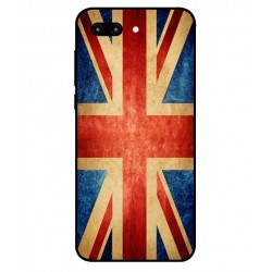 Coque Vintage UK Pour Huawei Honor 10