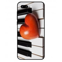 Coque I Love Piano pour Huawei Honor 10