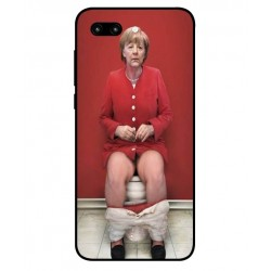 Huawei Honor 10 Angela Merkel On The Toilet Cover