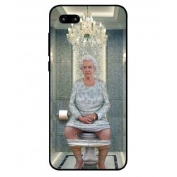 Huawei Honor 10 Her Majesty Queen Elizabeth On The Toilet Cover
