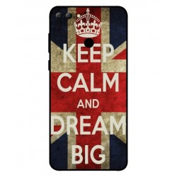 Huawei Y9 2018 Keep Calm And Dream Big Cover