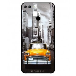 Huawei Y9 2018 New York Taxi Cover