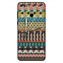 Coque Broderie Mexicaine Avec Horloge Pour Huawei Y9 2018
