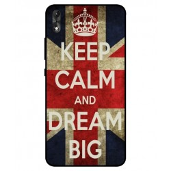 Coque Keep Calm And Dream Big Pour Wiko Robby 2