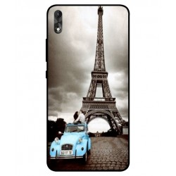 Wiko Robby 2 Vintage Eiffel Tower Case