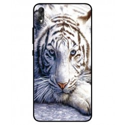 Coque Protection Tigre Blanc Pour Wiko Robby 2