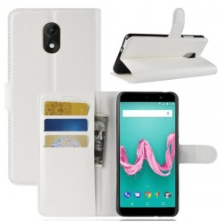 Wiko Lenny 5 White Wallet Case