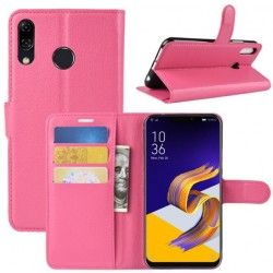 Protection Etui Portefeuille Cuir Rose Asus Zenfone Max M1 ZB555KL