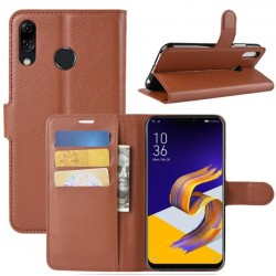 Asus Zenfone Max M1 ZB555KL Brown Wallet Case