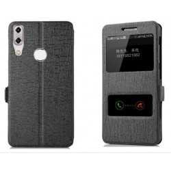 Black S-view Flip Case For Asus Zenfone Max M1 ZB555KL