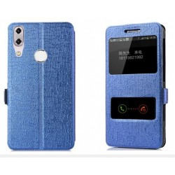 Blue S-view Flip Case For Asus Zenfone Max M1 ZB555KL