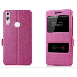 Etui Protection S-View Cover Rose Pour Asus Zenfone Max M1 ZB555KL