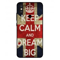 Xiaomi Mi A2 Mi 6X Keep Calm And Dream Big Cover