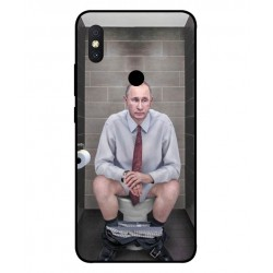 Xiaomi Redmi S2 Vladimir Putin On The Toilet Cover