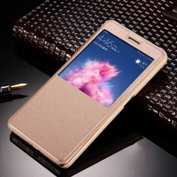 Gold S-view Flip Case For Xiaomi Redmi S2