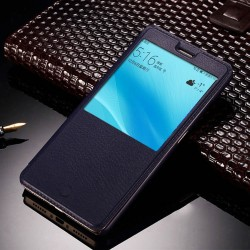 Blue S-view Flip Case For Xiaomi Redmi S2