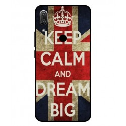 Coque Keep Calm And Dream Big Pour Wiko View 2