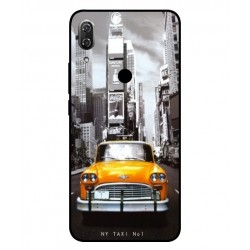 Wiko View 2 New York Taxi Cover