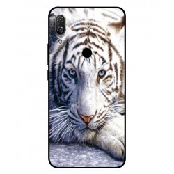 Coque Protection Tigre Blanc Pour Wiko View 2