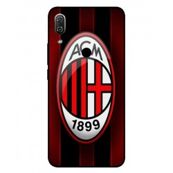 Wiko View 2 AC Milan Cover