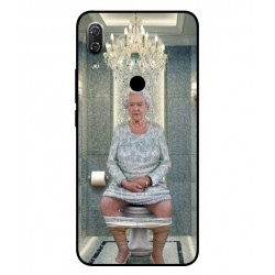 Wiko View 2 Her Majesty Queen Elizabeth On The Toilet Cover