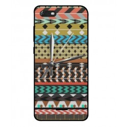 Wiko Tommy 3 Mexican Embroidery With Clock Cover