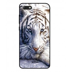 Wiko Tommy 3 White Tiger Cover