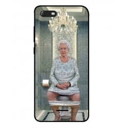 Wiko Tommy 3 Her Majesty Queen Elizabeth On The Toilet Cover