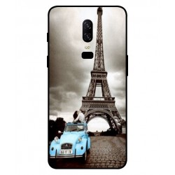 OnePlus 6 Vintage Eiffel Tower Case