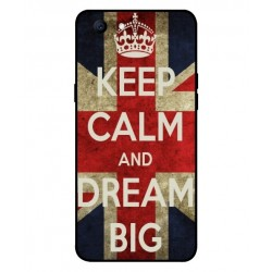 Oppo Realme 1 Keep Calm And Dream Big Cover
