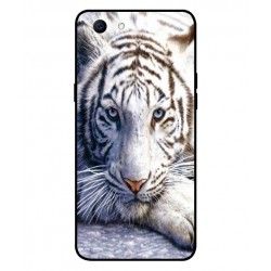Oppo Realme 1 White Tiger Cover