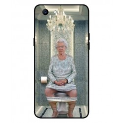 Oppo Realme 1 Her Majesty Queen Elizabeth On The Toilet Cover