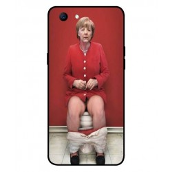 Oppo Realme 1 Angela Merkel On The Toilet Cover
