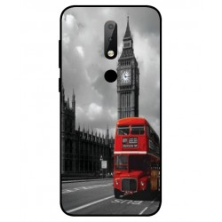 Nokia X6 London Style Cover