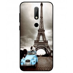 Nokia X6 Vintage Eiffel Tower Case