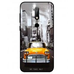 Nokia X6 New York Taxi Cover