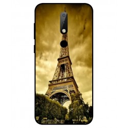 Nokia X6 Eiffel Tower Case