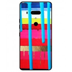 HTC U12 Plus Brushstrokes Cover