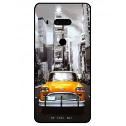 Carcasa New York Taxi Para HTC U12 Plus