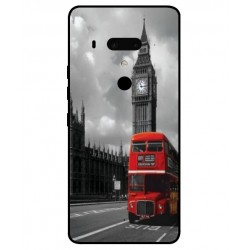 Carcasa London Style Para HTC U12 Plus
