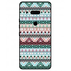Funda Bordado Mexicano Para HTC U12 Plus
