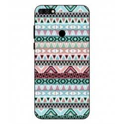 Coque Broderie Mexicaine Pour Huawei Honor 7C