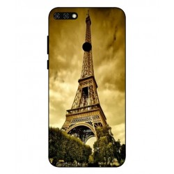 Coque Protection Tour Eiffel Pour Huawei Honor 7C