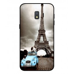 Samsung Galaxy J2 Core Vintage Eiffel Tower Case