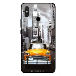 Xiaomi Mi Max 3 New York Taxi Cover