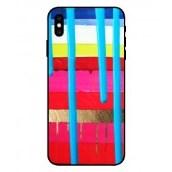 iPhone XS Brushstrokes Cover