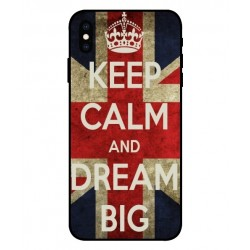 Keep Calm And Dream Big Hülle Für iPhone XS
