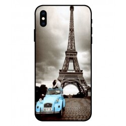 iPhone XS Vintage Eiffel Tower Case
