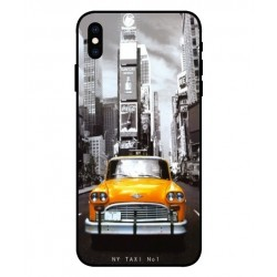 New York Taxi Custodia per iPhone XS