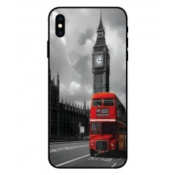 London Style iPhone XS Schutzhülle